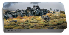 Portable Battery Charger featuring the photograph Rock Outcrop by Frank Wilson