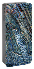 Portable Battery Charger featuring the photograph Rock Pattern Sc03 by Werner Padarin