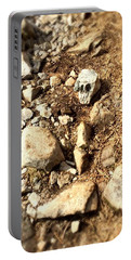 Rock Skull Portable Battery Charger