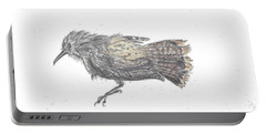 Rock Wren Portable Battery Charger by Dawn Senior-Trask
