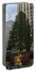 Rockefeller Center Christmas Tree Portable Battery Charger