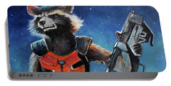 Rocket Portable Battery Charger by Tom Carlton