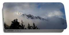Rockies In The Clouds. Portable Battery Charger