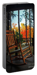 Rocking In Fall Portable Battery Charger