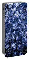 Rocks Of Blue Romance Portable Battery Charger