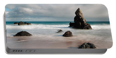 Rocky Beach On Sango Bay Portable Battery Charger