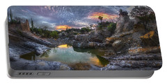 Rocky Creek Pond Portable Battery Charger