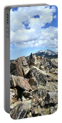 Rocky Crest At Big Horn Pass Portable Battery Charger
