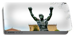 Portable Battery Charger featuring the photograph Rocky I by Greg Fortier