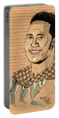 Rocky Maivia Portable Battery Charger