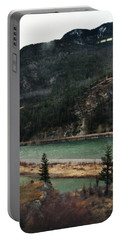 Rocky Mountain Foothills Montana Portable Battery Charger by Kyle Hanson
