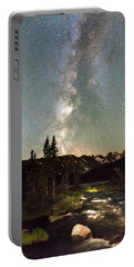 Rocky Mountain Night Portable Battery Charger