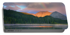 Rocky Mountain Portable Battery Charger by Tim Fitzharris