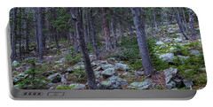 Portable Battery Charger featuring the photograph Rocky Nature Landscape by James BO Insogna