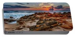 Rocky Sunrise Portable Battery Charger