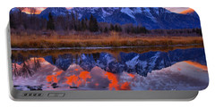 Rocky Teton Reflections Portable Battery Charger