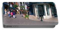 Rodeo Drive, Beverly Hills, California Portable Battery Charger by Panoramic Images