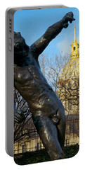 Rodin Playing With Napoleon Portable Battery Charger