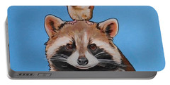 Rodney The Raccoon Portable Battery Charger