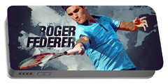 Roger Federer Portable Battery Charger