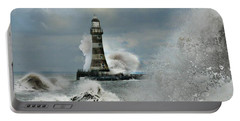 Roker Pier And Lighthouse Portable Battery Charger