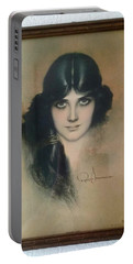 Rolf Armstrongs Dream Girl 1929 Portable Battery Charger