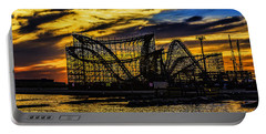 Roller Coaster Sunset Portable Battery Charger