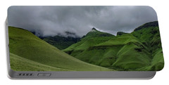 Rolling Green Drakensberg Mountains Portable Battery Charger