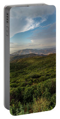 Rolling Hills Of Chaparral Portable Battery Charger