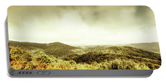 Rolling Hills Of The Tarkine, Tasmania Portable Battery Charger