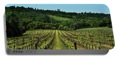 Rolling Hills Winery Grapevines   Portable Battery Charger