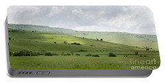 Rolling Landscape, Romania Portable Battery Charger