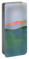 Rolling Mountains Portable Battery Charger by Jacquie Gouveia