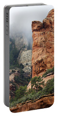 Portable Battery Charger featuring the photograph Rollings Mists by Phyllis Denton