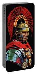 Roman Centurion Portrait Portable Battery Charger