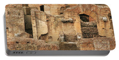 Portable Battery Charger featuring the photograph Roman Colosseum by Silvia Bruno