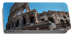 The Colosseum Of Rome Portable Battery Charger