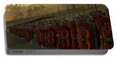 Roman Legion In Battle - Ancient Warfare Portable Battery Charger