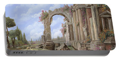 Roman Ruins Portable Battery Charger