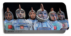 Roman Warriors - Bust Sculpture - Roemer - Romeinen - Antichi Romani - Romains - Romarere Portable Battery Charger