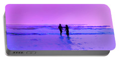 Romance On The Beach Portable Battery Charger