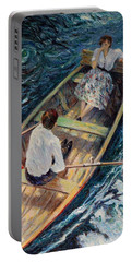 Dordogne , Beynac-et-cazenac , France ,romantic Boat Trip Portable Battery Charger