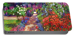 Romantic Garden Walk Portable Battery Charger