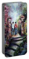 Romantic Landscape Portable Battery Charger
