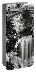 Romantic Moments At The Falls Portable Battery Charger