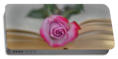 Portable Battery Charger featuring the photograph Romantic Read 2 by Diane Alexander