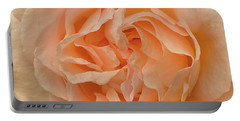 Romantic Rose Portable Battery Charger by Jacqi Elmslie