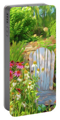 Romantic Skies Garden Of Paradise Portable Battery Charger