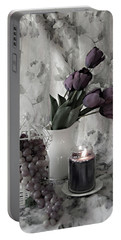 Portable Battery Charger featuring the photograph Romantic Thoughts by Sherry Hallemeier
