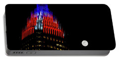Romare Bearden Park In Charlotte 2 Portable Battery Charger by Serge Skiba